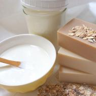 Oatmeal Yogurt Honey Soap Soapjam