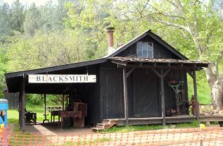 Old Shasta Blacksmith Shop California