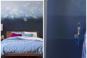 Ombre Wall Paint Technique 9226