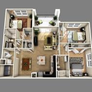 Open Floor Plan Bedroom Bathroom Inspirations House