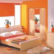 Orange Bedroom Ideas Asian Paints Colour Combination