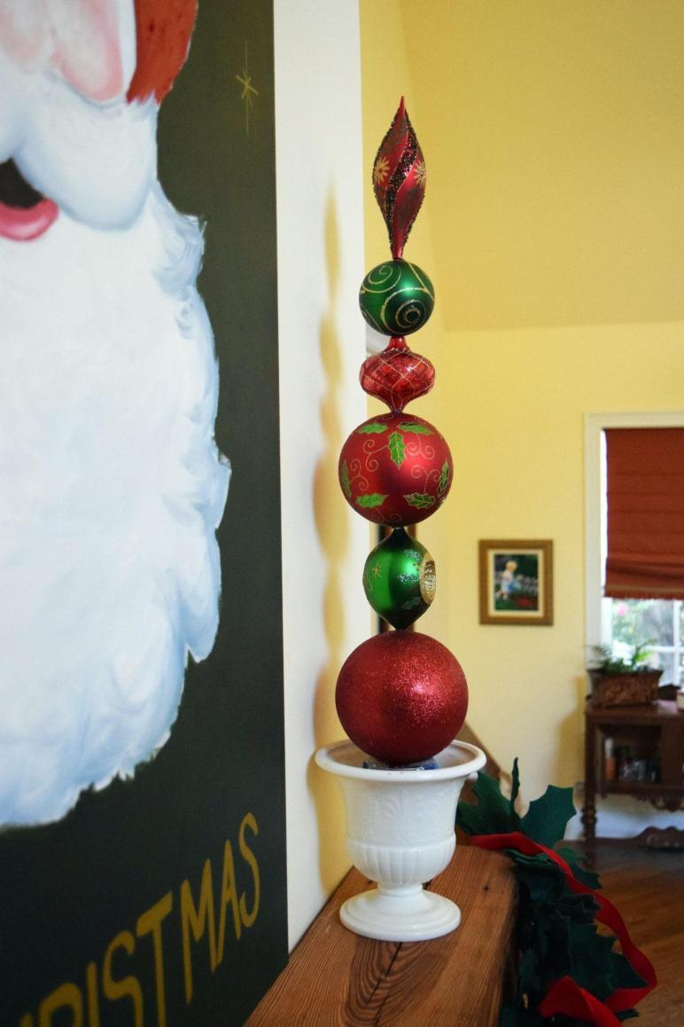 Ornament Topiaries Nourish Nestle