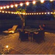 Outdoor Patio Lighting Ideas Solar Best