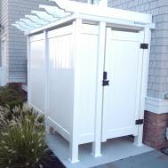 Outdoor Shower Enclosures Dennisville Fence