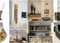 Outstanding Modern Firewood Storage Ideas