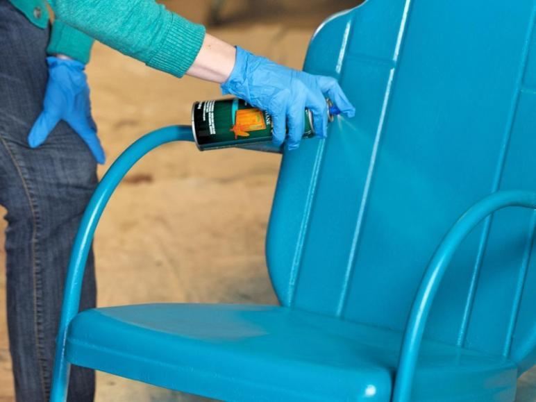 Paint Outdoor Metal Chair Tos Diy