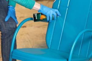 Paint Outdoor Metal Chair Tos Diy