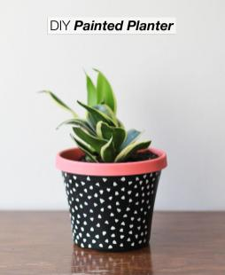 Painted Planter Crafted Life