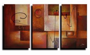 Panel Geometric Graphes Modern Canvas Art Wall Decor