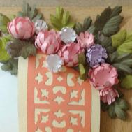 Paper Craft Flowers Cards Recycling Card Making