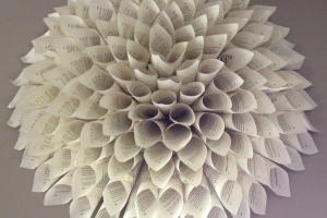 Paper Flower Wonder Wall Collection Sculptures Art