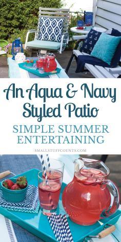 Patio Summer Entertaining Small