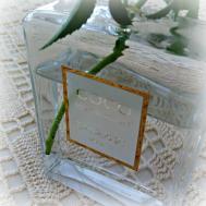 Perfume Bottle Bud Vase Beautiful Matters