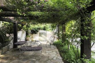 Pergola Cast Iron Outdoor Furniture Interior Design