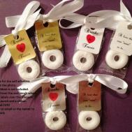 Personalized Lifesaver Favor Labels Wedding Party