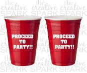 Personalized Red Solo Cup Insulated Thecreativespark2