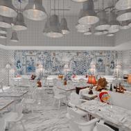 Philippe Starck Designs Surreal Nautical Interior