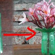 Plastic Bottle Life Hack Diy Vase