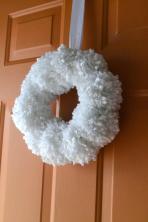 Polkadot Fluff Diy Pom Winter Wreath