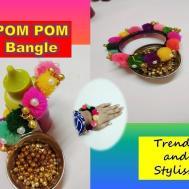 Pom Make Bangle Bracelet Quick Easy