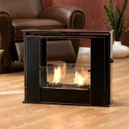 Portable Fireplace Modern Style Bring Ideas