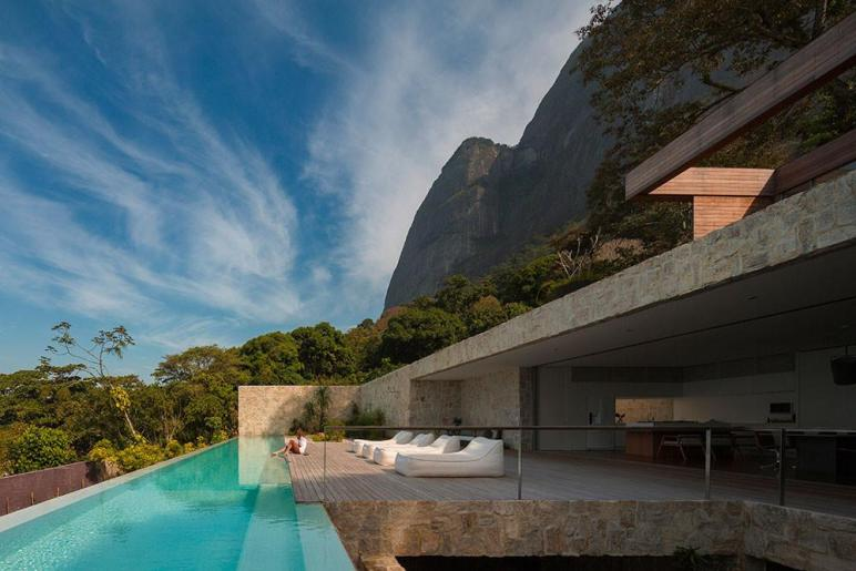 Posh Rio Janeiro Home Spectacular Ocean Views