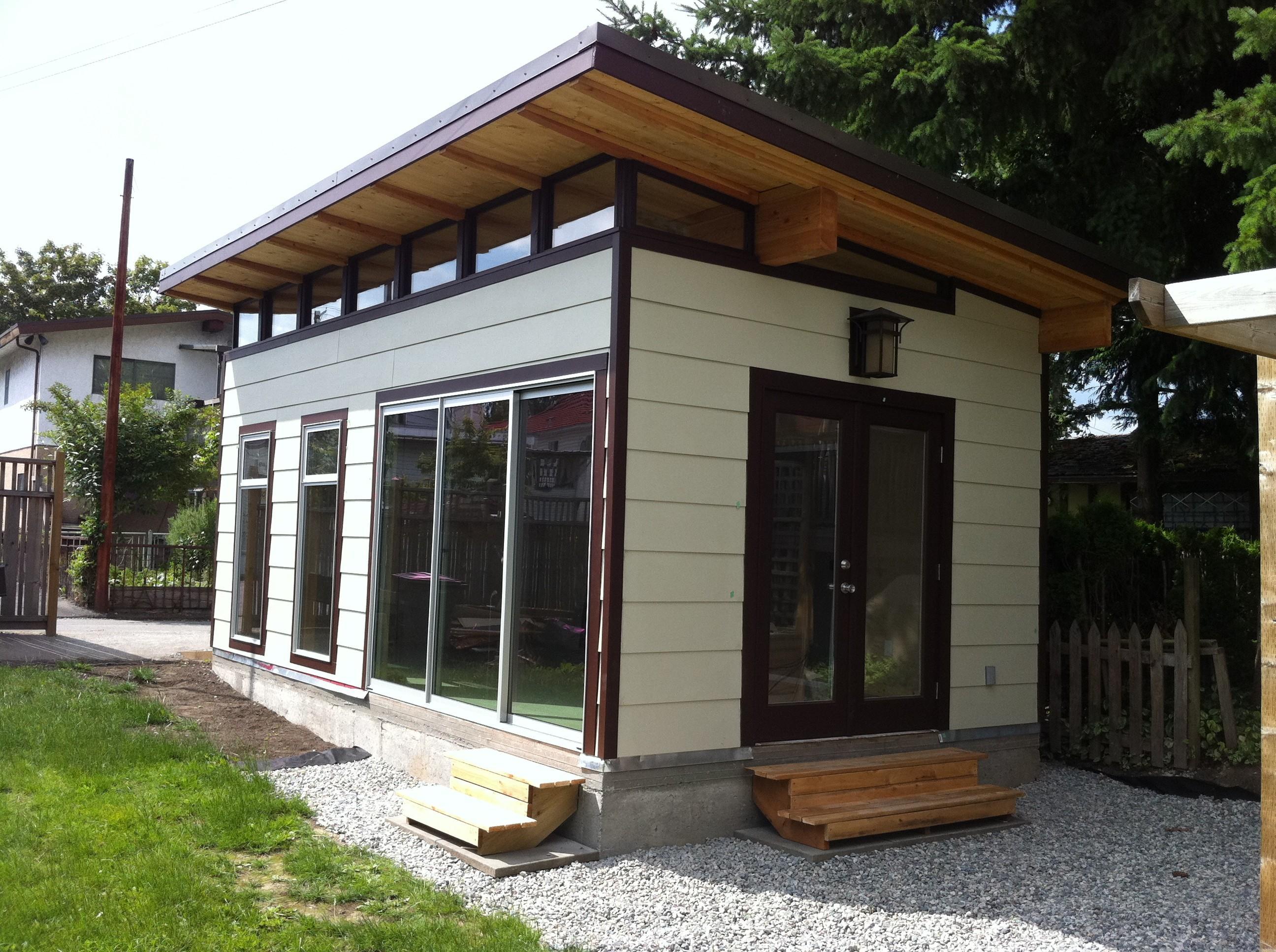 Prefab Garage Kit Coastal Modern Shed Decoratorist 47608