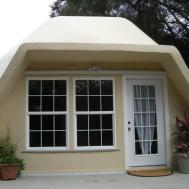 Prefab Home Kit Geodesic Dome Fire Resistant