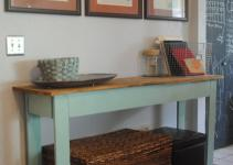 Preppy Mom Diy Console Table Tutorial
