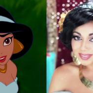 Princess Jasmine Makeup Aladdin