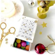 Printable Christmas Countdown Mini Adventskalender