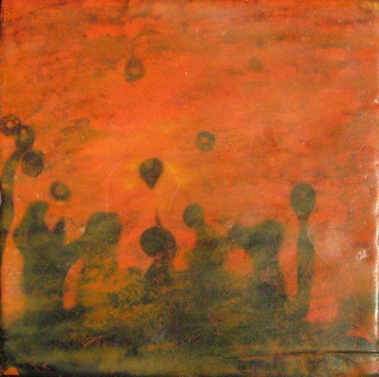 Printmaking Encaustic Painting 2010