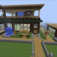 Probably One Best Minecraft House World