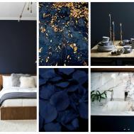 Progress New Project Navy Blue Living Room