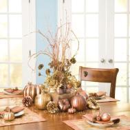 Pumpkin Gourd Fruit Centerpieces Festive Fall