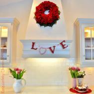 Puzzle Piece Love Garland Valentine Day Weddings