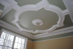 Quatrefoil Coffered Ceiling Design Part Two