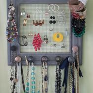 Rach Blog Diy Jewelry Box Wall