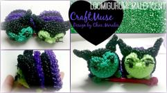 Rainbow Loom Loomigurumi Maleficent Inspired Tsum