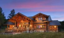 Ranch Cabin Photos Log Vacation Homes Hidden Meadow