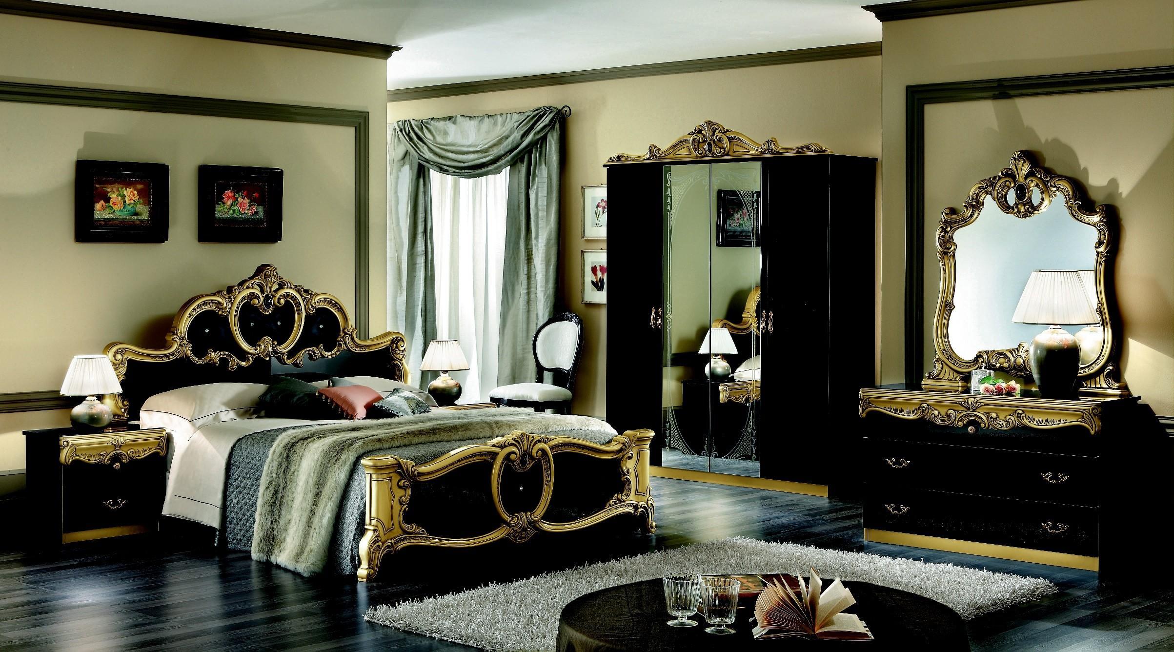 Red Black Gold Bedroom Ideas Decor Interalle Decoratorist 41519