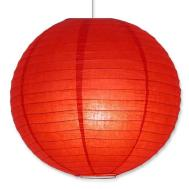 Red Round Paper Lantern Divine Planet