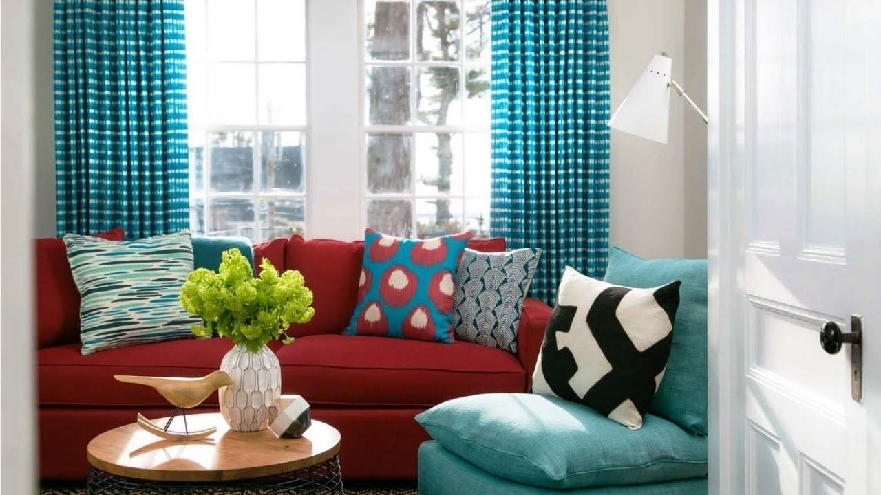 Red Turquoise Living Room Nana Work, Red And Turquoise Living Room