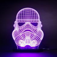 Refined Star Wars Stormtrooper Face Mask Led Desk Light