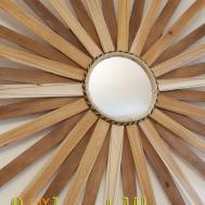 Remodelando Casa Fall Mantel Diy Sunburst Mirror