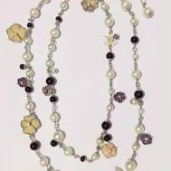 Replica Women Jewelry Chanel Camellia Necklaces Qpp