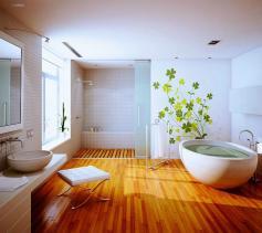 Restore Wooden Bathroom Floor
