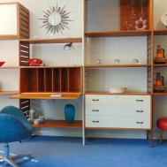 Retro Ladderax Teak Shelving Display Bookcase System