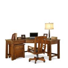 Riverside Home Office Corner Desk 2930 Blockers
