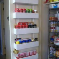 Robbygurl Creations Diy Pantry Door Spice Racks
